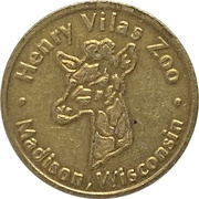 1 Ride - Henry Vilas Zoo (Madison, Wisconsin) – obverse