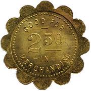 2½ Dollars - Buehler Mercantile Co. (Claflin, Kansas) – reverse