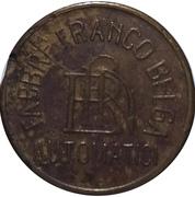 20 Centesimi - Fabbr Franco Belga Automatici  – obverse