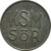 Token - KSM Sör – reverse