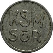 Token - KSM Sőr – reverse