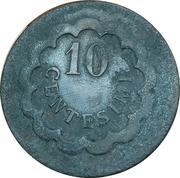 10 Centesimi (B) – reverse