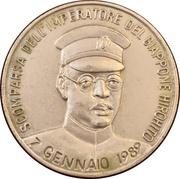 Medal - Scomparsa dell'imperatore del Giappone Hirohito – obverse