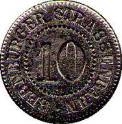 10 Pfennig  Bernburg (tram) – obverse