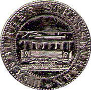 10 Pfennig  Bernburg (tram) – reverse