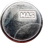 Token - MAS (Nova Gorica) – reverse
