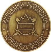 Token - Slovenska vojska (Center za usposabljanje) – reverse