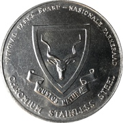 Token - National Parks Board (Addo Elephant) – obverse