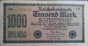 1,000 Mark (Nazi propaganda note) – obverse