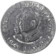 50 Sentimos (Ferdinand and Imelda Marcos; Pattern) – reverse