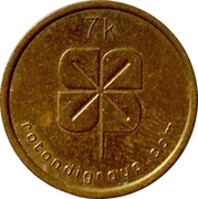 Laundry Token - Rotondigroup (7 k) – obverse