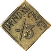 3 Pence - Premier Diamond Mining Company (Set 2) – obverse