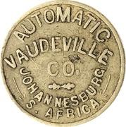 Token - Automatic Vaudeville Co. (Johannesburg) – obverse