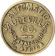 Token - Automatic Vaudeville Co. (Johannesburg) – reverse