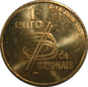 1 Euro - Brignais – reverse