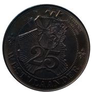 25 Westvlaander (Poperinge Moorslede Gistel) – reverse