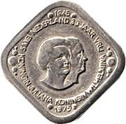 5 Cents - Beatrix (Juliana / Wilhelmina; Liberation) – obverse