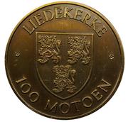 100 Motoen - Liedekerke – reverse