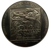 100 Stoeten - Antwerpen – reverse
