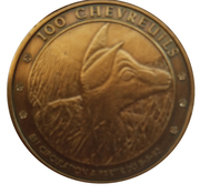 100 Chevreuils - Crupet – reverse