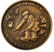 100 Bewinstropers - Sint Amands – obverse