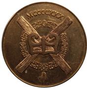 Token - Leopold I (Order Of The Golden Fleece) – reverse
