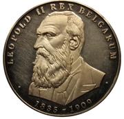 Token - Leopold II – obverse
