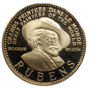 Token - Great painters of the World (Rubens) – obverse