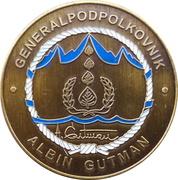 Token - Slovenska vojska (Generalpodpolkovnik Albin Gutman) – obverse
