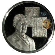 Token - 1830-1980 (1911 Maeterlinck Nobel Prize) – obverse
