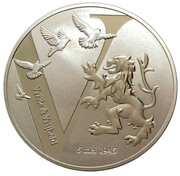 Token - Vrede & Vrijheid (Battle of the Scheldt) – reverse