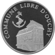 20 Bricks - Commune libre d'Ouchy – obverse