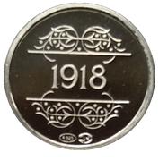 Token - 1830-1980 (1918 Loppem) – reverse