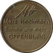 Mara Heckmann Taler (Offenburg) – obverse
