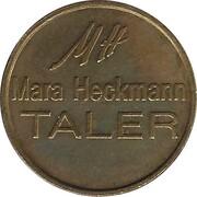 Mara Heckmann Taler (Offenburg) – reverse