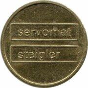 Token - Servomat Steigler Cafe – obverse