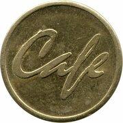 Token - Servomat Steigler Cafe – reverse