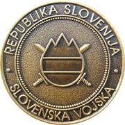 Token - Slovenska vojska (670. LOGB) – reverse