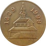 Token - 770 years of Kamnik – reverse