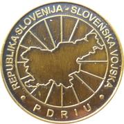 Token - Slovenska vojska (Šola za častnike, 19. generacija) – reverse