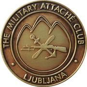Token - The Military Attaché Club (Ljubljana) – obverse
