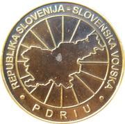 Token - Slovenska vojska (Poveljniško štabna šola, 14. štabno šolanje) – reverse