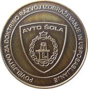 Token - Slovenska vojska (Avto šola) – obverse