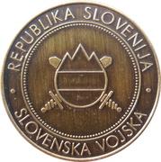 Token - Slovenska vojska (Avto šola) – reverse