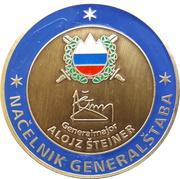 Token - Slovenska vojska (Načelnik generalštaba; Generalmajor Alojz Šteiner) – obverse