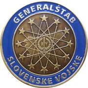 Token - Slovenska vojska (Načelnik generalštaba; Generalmajor Alojz Šteiner) – reverse
