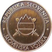 Token - Slovenska vojska (Letalska šola slovenske vojske) – reverse