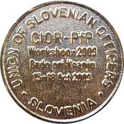 Token - Slovenska vojska (Zveza slovenskih častnikov; CIOR - PfP Workshop 2009) – reverse