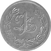 1 Zloty - Spoldzielnia 45 P. S. KRES (Rowne) – reverse