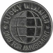 Game Token - Fortuna Casino Coin (Lucky Winner) – reverse